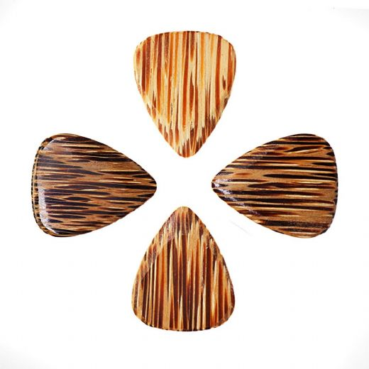 Timber Tones Coconut Palm 4 Guitar Picks